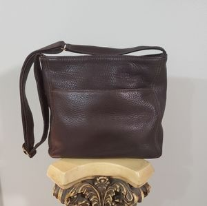 Coach Natural Full Grain Cowwide leather crossbody
